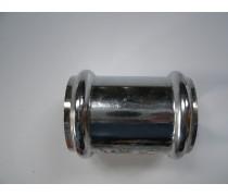 (K)chrome sok om chrome buizen 32 mm met elkaar  te verbinden art.nr jos 067