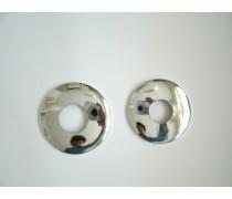 kraanrozet chroom  rond 61 mm 1/2  5 mm hoogte art.nr 802002110