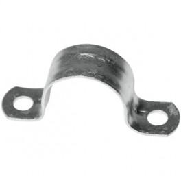 (B9)Sterke metalen schroef-zadel 26 mm  per stuk verkrijgbaar