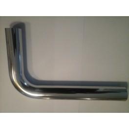 (K)Chrome  losse bocht 32 mm  90 graden lengte 25 cm x 30 cm  art F304CR012
