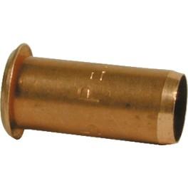 (A) Steunbus  12 mm te gebruiken bij knellen /persen zachte kopere buis of wicubuis  art 83105