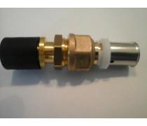 (A) Overgangskoppeling Rehau 16 mm x 16 mm Comisa persysteem