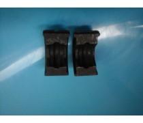 (A3)losse set inzetstukken  15 mm V-profiel voor hand/accuperstang voor Viega-koperperssysteem