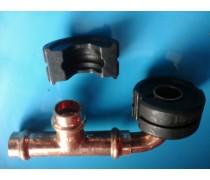 (A3)losse set inzetstukken  22 mm V-profiel voor hand/accuperstang voor Viega-koperperssysteem