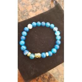 Armband Half Edelsteen blue