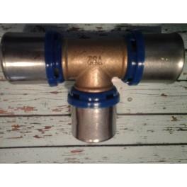 (C4) Handyman Extra Profit pers T-stuk Th-systeem 32 mm x 32 mm x 32 mm