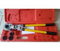 (A1) Supervoordelig !.Handyman /Comisa Handperstang universeel in koffer Th-profielsysteem  incl inzetstukken 16 -20-26-32 mm
