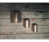 RVS pershuls 16 mm voor Handyman Extra Profit perskoppelingen