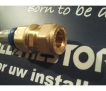 (A1) Handyman Extra Profit Overgangskoppeling 12 mm koper x 20 mm kunststof meerlagenbuis