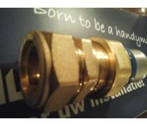 (A1) Handyman Extra Profit Overgangskoppeling 22 mm koper x 26 mm kunststof meerlagenbuis