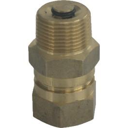 Voordelige Aansluitkoppeling  ter vervanging expansievat 3/4 binnendr x 3/4 buitendraad art 1812593