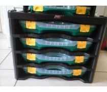 Tayg Opbergbox unit nr 2  met 4 grote opbergdozen