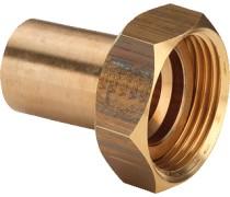 2 delige koppeling 3/4 bi x 15 mm  wordt geleverd met fiber ring  art 2227734