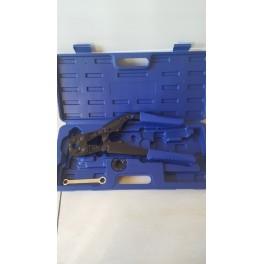 (A1) Nieuw!! Kleine handige handperstang Th-syteem knik-model 38cm voor 16-20mm perskoppelingen/meerlagenbuis