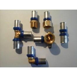 (A1) Kennismaking Extra Voordeelset 30 st Handyman perskoppelingen Th-systeem  20 mm