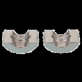 (A3)losse set inzetstukken  25 mm U-profiel (o.a.Uponor) voor hand/accuperstang voor U- meerlagenperssysteem