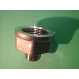 (X25) Speciale draadfitting 3/8 buitendr x 3/4 binnendr art F272R014