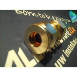 Eurokono  Rechte koppeling 12mm koper buis  x 16mmx 2.0 mm  meerlagenbuis