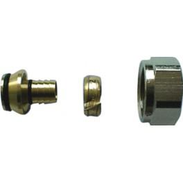 overgangsetje (speciale maat )moer 3/4 eurokono naar 20 mm x 3.4  meerlagenbuis  art 4282281