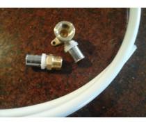 Voor klant op maat  1.2 mtr buis 16mm geperst met 2 perskoppelingen