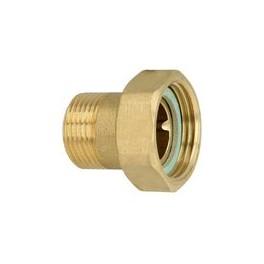 Schroefkoppelmoerverbinding (special )incl fiberring  3/4 buitendr  x Duims binnendr.