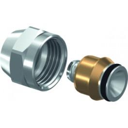 Aansluit/onderblok-setje (special) 2 st aansluitkoppelingen M24 x 16 mm meerlagenb. art 1296935