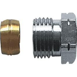 knelset-overgang 3/8 radiatoraansluiting  x 12mm koper art 3613031