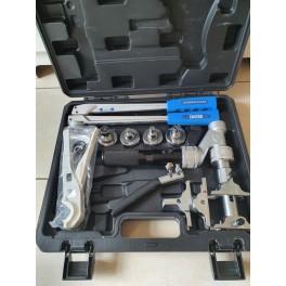 (A2) Nieuw!! Axiaal Universele Handperssyteemset  hydraulisch complete set voor o.a Rehau,Tece persfittings