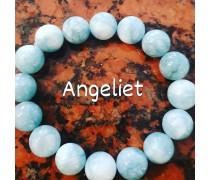 Armband met echte stenen Angeliet