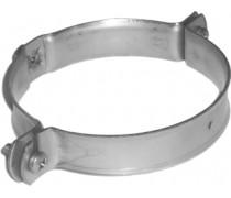 Buis ophangbeugel RVS  M8 voor 90 mm buis met houtdraaibevestiging  art 4364659