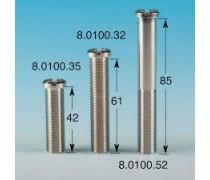 Kleinste schroef voor Lira afvoerplug  45.7 mm art 8.0100.35