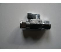 mini-knelkoppeling (ballofix) met kogelafsluiter italiaans design met bedieningshendeltje