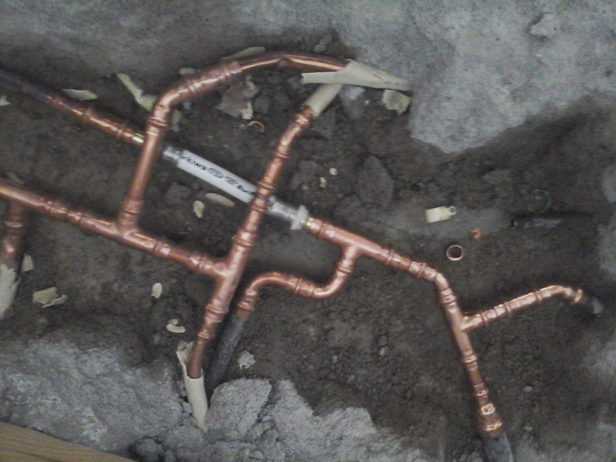Viega perssysteem /leidingen kopere buis en c.v buis